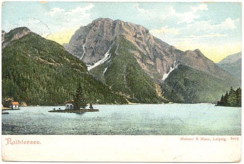 Raibler See, Lago del Predil, Julische Alpen