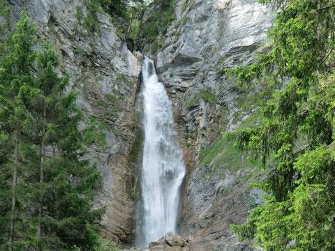 Martuljek Wasserfall