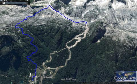 Rifugio Grego, Julische Alpen, wandern
