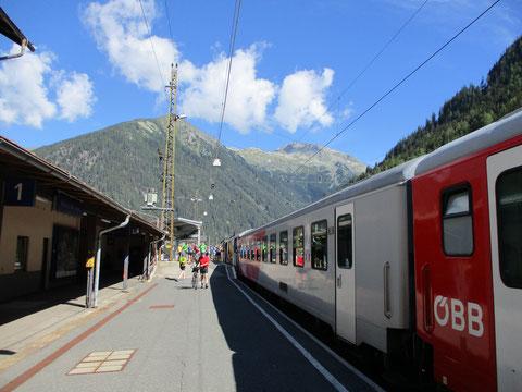 Abfahrt in Villach um 09:07 - Ankunft in Mallnitz nur gut 1 Stunde später um 10:09