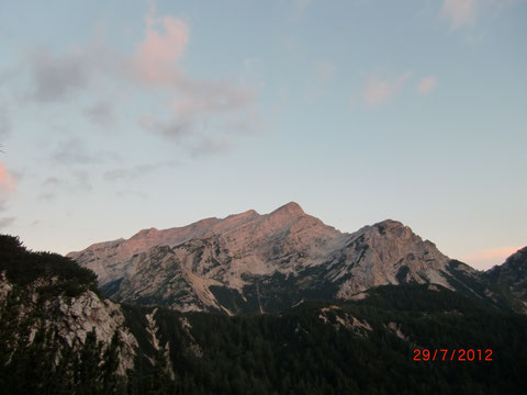 Prisank Klettersteig, Julische Alpen