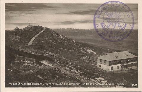 Das Dobratsch - Ludwig Walterhaus Ende der 1920er Jahre
