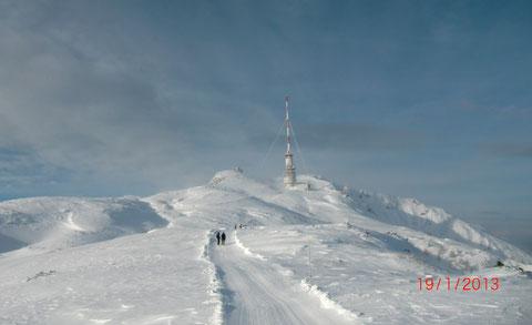 Dobratsch, Villacher Alpe, Skitour, Gipfelhaus, Heiligengeist, Wanderwege