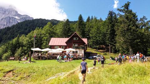 Grego Hütte, Julische Alpen, Valbruna