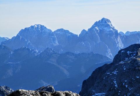 Julische Alpen, Gipfel