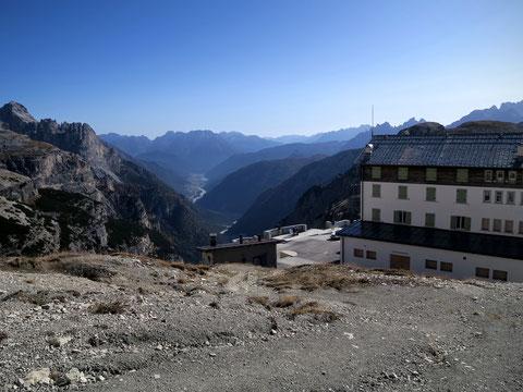 Toblinger Knoten, Dolomiten, 3 Zinnen, Auronzohütte