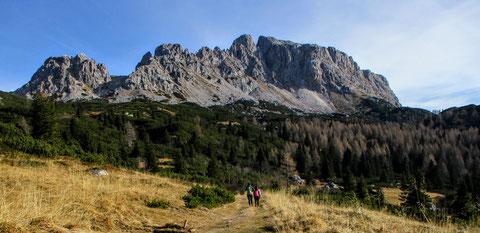 Trogkofel, Karnische Alpen, Alm, wandern