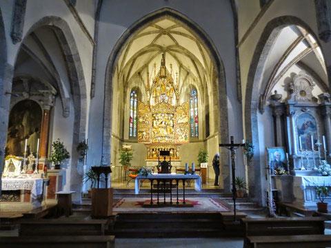 Pontebba Kirche, Kanaltal
