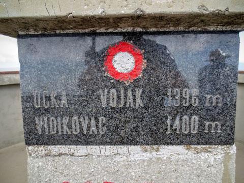 Vojak, Monte Maggiore, Istien, Kvarner Bucht