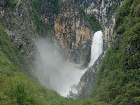 Julische Alpen, Wasserfälle, Bovec