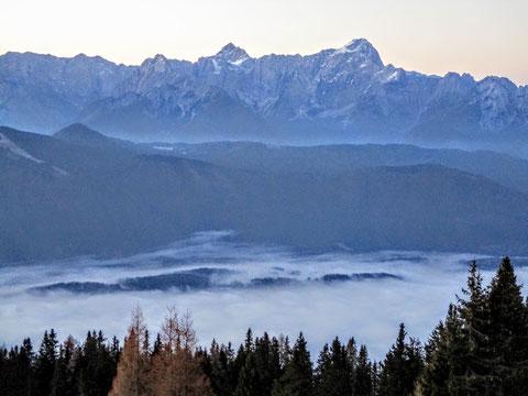Dobratsch, Villacher Alpe, Julische Alpen