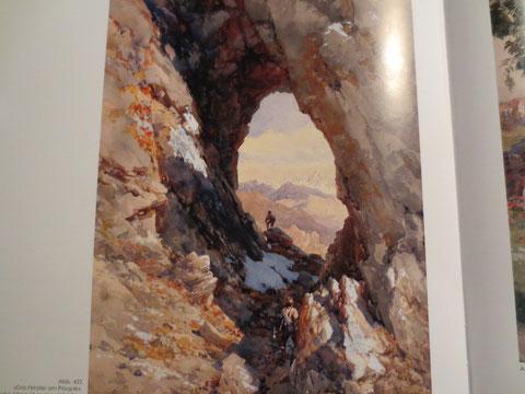 Julische Alpen, Prisank Klettersteig, Fenster, Hanzasteig