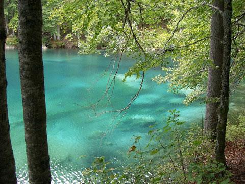 Weissenfelser See, Laghi di Fusine, Julische Alpen, Alpe Adria Trail