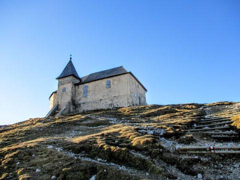 die höchstgelegene unter den alten Bergkirchen der Ostalpen