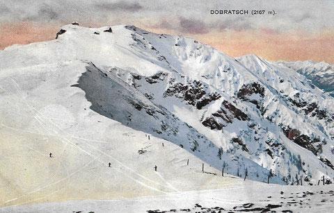 Dobratsch, Villacher Alpe, Ski, Lahner, Gipfel