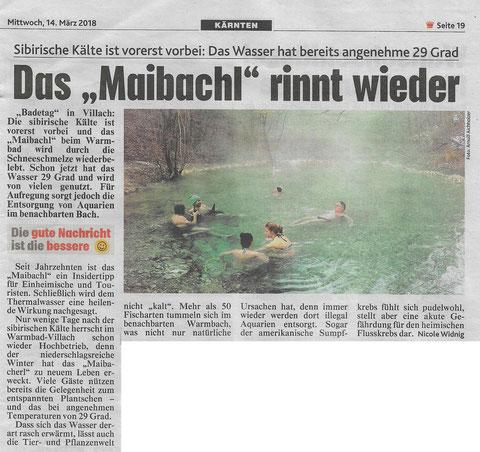 Maibachl, Warmbad Villach