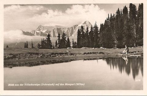 Bergromantik am Dobratsch Ende der 1920er Jahre