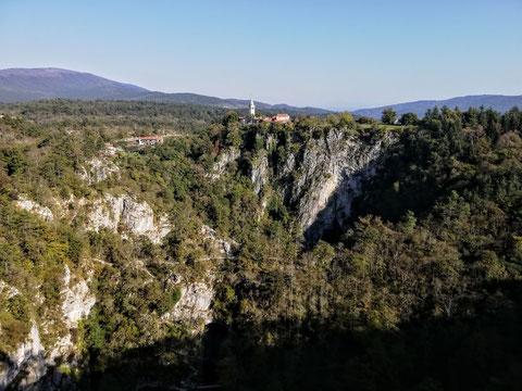 Die Höhlen von St.Kanzian (Škocjan) - Škocjanske jame - 10.10.2018