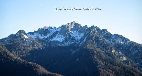 ulische Alpen, Mangart, Triglav, Montasch, Luschari, Dobratsch, Steinerner Jäger