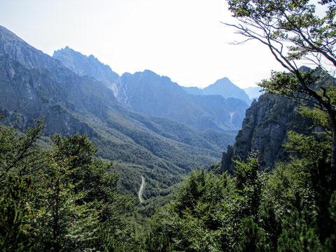Val Alba, Moggio, Wandern, Karnische Alpen, Berge