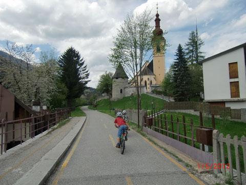 Ciclovia Alpe Adria Radweg, Tarvis, Kanaltal, Julische Alpen