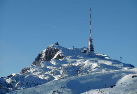 Dobratsch, Villacher Alpe, Skitour, Heiligengeist, Zehner, Wanderwege