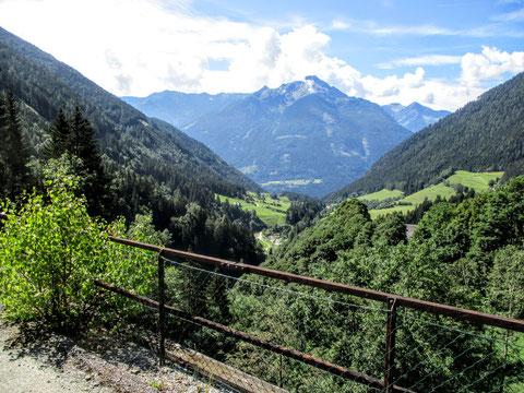Tauernbahn, Radweg, Mallnitz