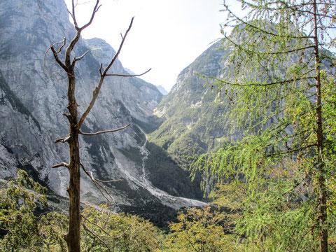 Luknja, Triglav Nationalpark, Trenta, Julische Alpen, Zadnjica,