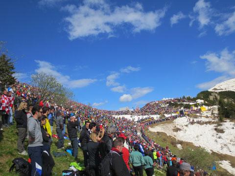 Monte Zoncolan, Giro d´Italia, Fans