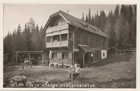 Ottohütte, Dobratsch, Ansichtskarte, Lost Places