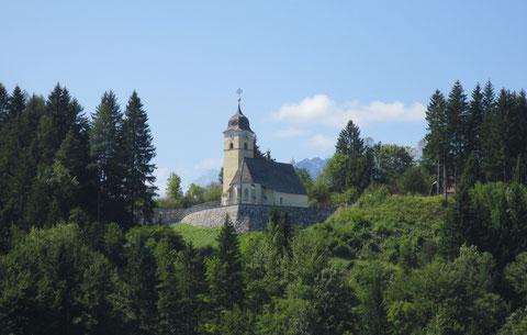Die Kirche von Coccau (dt. Goggau)