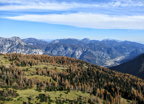Kanaltal, Berge