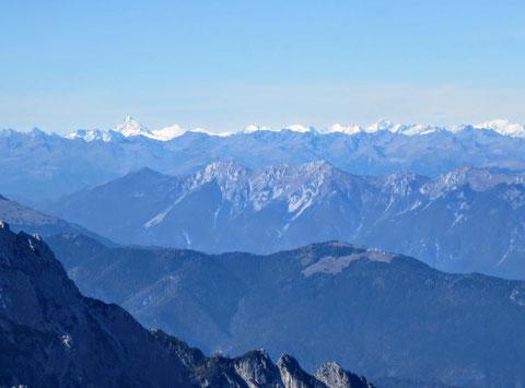 Prisank, Klettersteig, Julische Alpen, Gipfel
