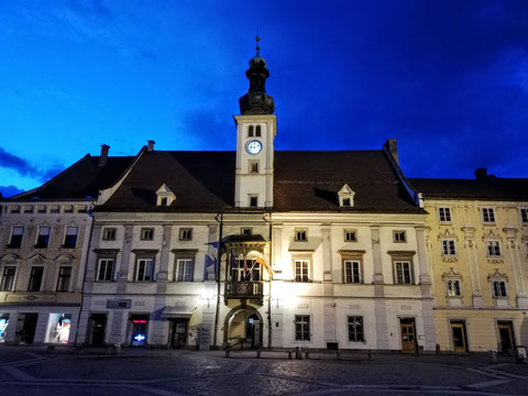 Das Rathaus von Maribor