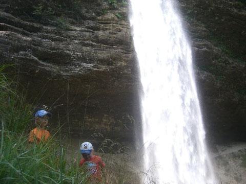 Pericnik Wasserfall im Vratatal - einer der bekanntesten Wasserfälle Sloweniens