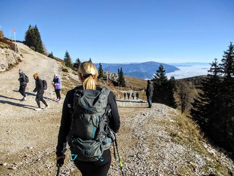 Villacher Alpe, Dobratsch, Normalweg