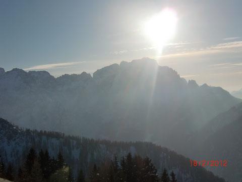Montasch (Jof di Montasio) 2.754m - der höchste Gipfel in den westlichen Julischen Alpen