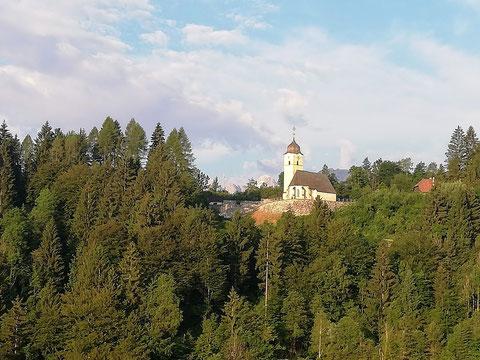 Kirche, Alpe Adria Radweg, Ciclovia