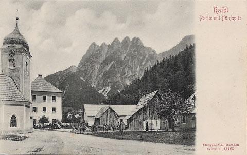 Julische Alpen, Mangart, Triglav, Montasch, Luschari, Kugy, Raibl, Predil