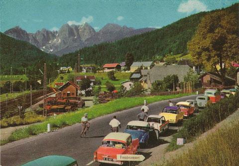 Der Wischberg wie ihn Millionen von Italien-Urlaubern zwischen 1950 bis Mitte der 1980er Jahre an der österreichisch-italienischen Grenze auf ihrem Weg an die Adria zu sehen bekamen