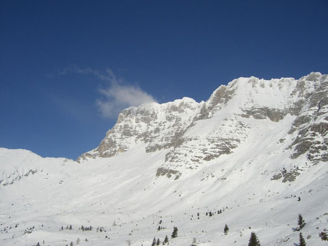 Forca dei Disteis, Montasch, Julische Alpen