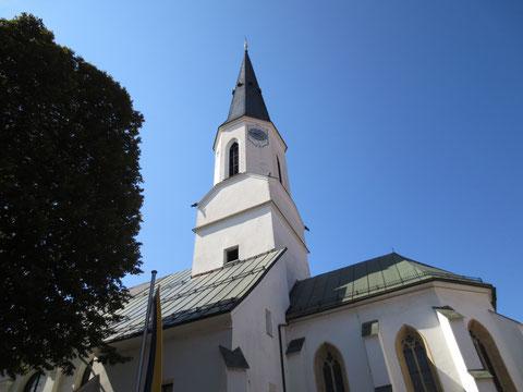 Die Stadtpfarrkirche von St. Veit an der Glan