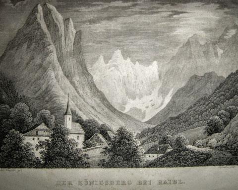 Railb, Königsberg, Monte Re, Julische Alpen, Wischberg