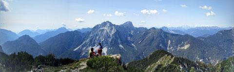 Cjasùt dal Sciôr, Wandern, Karnische Alpen, Berge