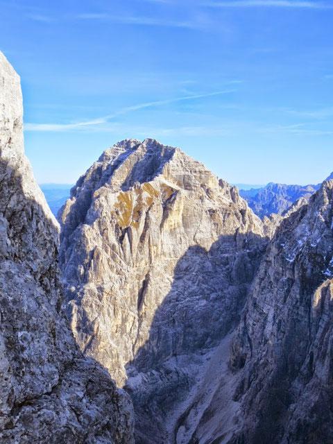 Atemberaubender Blick in die mächtige Westflanke des Wischberg