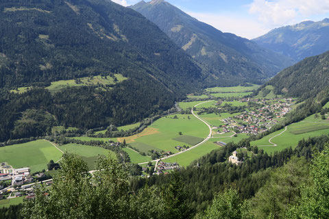 Mölltal, Radweg, Tauernbahn