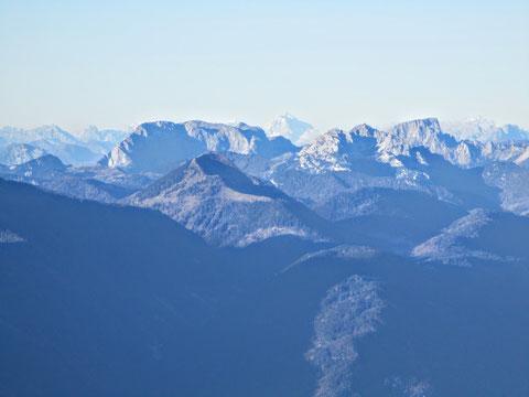 Dobratsch, Villacher Alpe, Karnische Alpen
