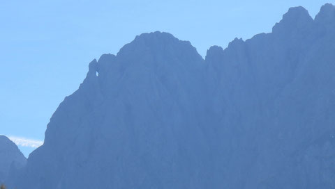 Prisank, Pristojnik, Julische Alpen, Fenster, Okno