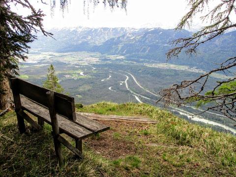 Villacher Alpe, Wandern, Schütt, Südwand, Gail