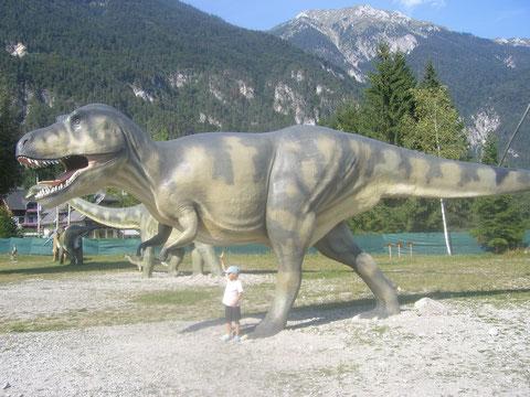 T-Rex, Dinosaurier
